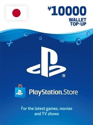 PlayStation Network Gift Card 10 000 YEN - PSN JAPAN - 1