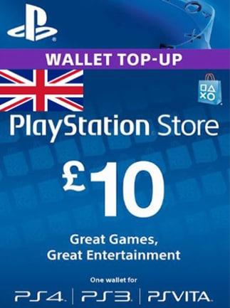 PlayStation Network Gift Card 10 GBP PSN UNITED KINGDOM - 2