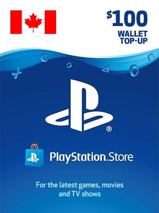 PlayStation Network Gift Card 100 CAD PSN CANADA - 1