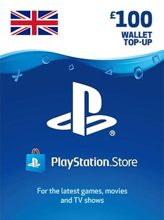 PlayStation Network Gift Card 100 GBP - PSN UNITED KINGDOM - 1