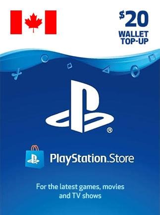 PlayStation Network Gift Card 20 CAD - PSN CANADA - 1