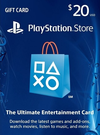 PlayStation Network Gift Card 20 USD PSN UNITED STATES - 1