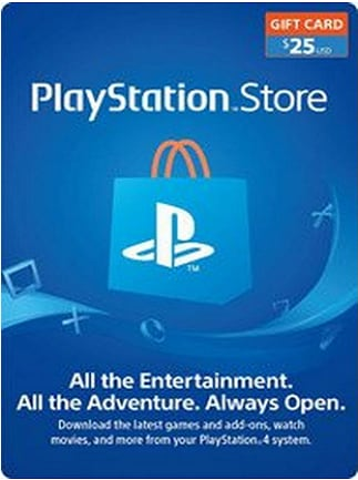 PlayStation Network Gift Card 25 USD PSN UNITED STATES - 1