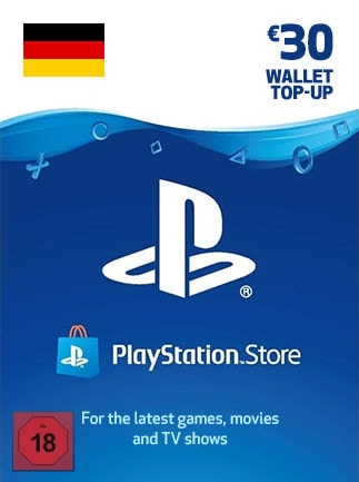 PlayStation Network Gift Card 30 EUR - PSN GERMANY - 1
