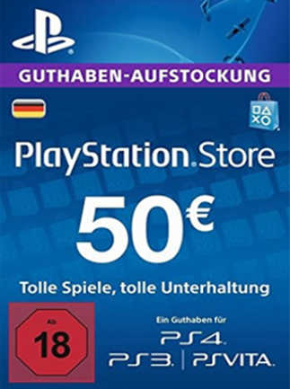 PlayStation Network Gift Card 50 EUR PSN GERMANY - 2