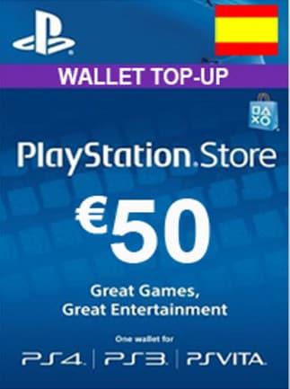 PlayStation Network Gift Card 50 EUR PSN SPAIN - 1