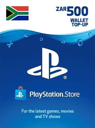 PlayStation Network Gift Card 500 ZAR - PSN SOUTH AFRICA - 1