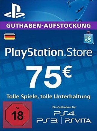 PlayStation Network Gift Card 75 EUR PSN GERMANY - 1