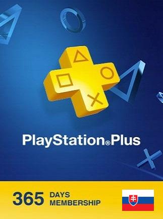 Playstation Plus CARD 365 Days PSN SLOVAKIA - 1