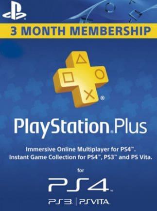 Playstation Plus CARD 90 Days PSN SWEDEN - 1