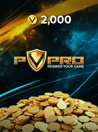 PvPRO Gift Card 2 000 Coins - 1