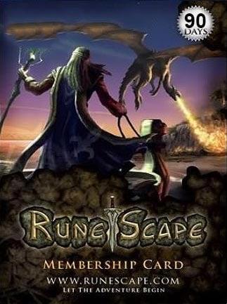 RuneScape Membership Timecard GLOBAL 90 Days - 1