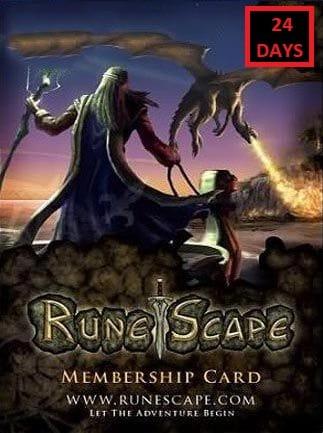RuneScape Membership Timecard 24 Days (PC) - Runescape Key - GLOBAL - 1