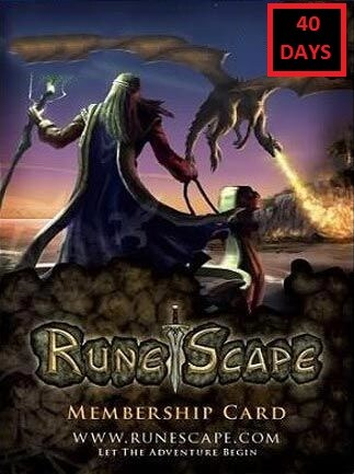 RuneScape Membership Timecard 40 Days (PC) - Runescape Key - GLOBAL - 1