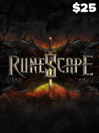 Runescape Prepaid Card 25 USD NORTH AMERICA - 3