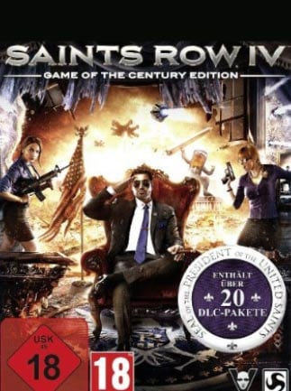 Saints Row IV: Game of the Century Edition Steam Key GLOBAL - 1