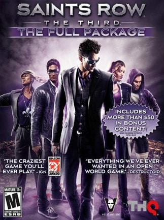 Saints Row: The Third - Full Package Steam Key GLOBAL - 1