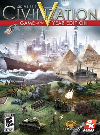 Sid Meier's Civilization V Game of the Year Edition Steam Key GLOBAL - 1