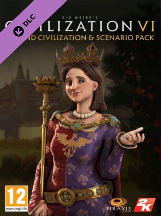 Sid Meier's Civilization VI - Poland Civilization & Scenario Pack Steam Key GLOBAL - 1