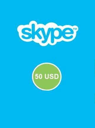 Skype Prepaid Gift Card 50 USD Skype GLOBAL - 3