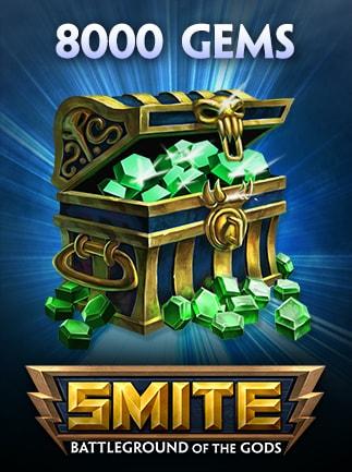 SMITE GEMS 8 000 Coins (PC) - SMITE Key - GLOBAL - 1
