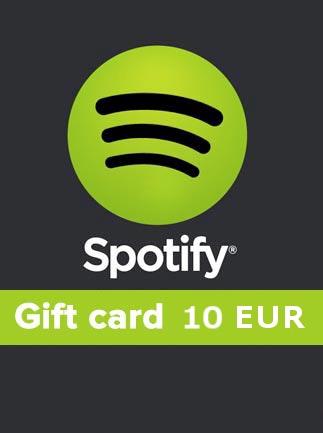 Spotify Gift Card 10 EUR Spotify BELGIUM - 1