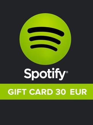 Spotify Gift Card 30 EUR Spotify EUROPE - 1