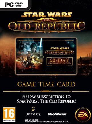 Star Wars The Old Republic Prepaid Time Card 90 Days Star Wars Key GLOBAL - 1