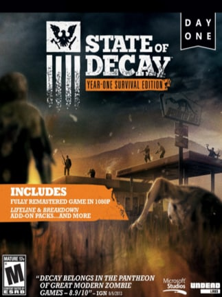 State of Decay: YOSE Day One Edition Steam Key GLOBAL - 1