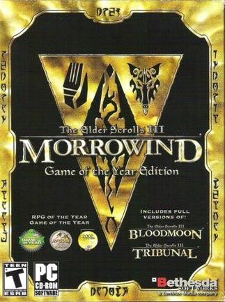 The Elder Scrolls III: Morrowind GOTY Edition Steam GLOBAL - 1