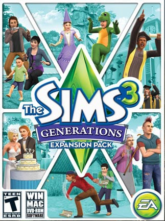 The Sims 3: Generations Origin Key GLOBAL - 1