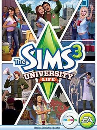 The Sims 3 University Life Origin Key GLOBAL - 1