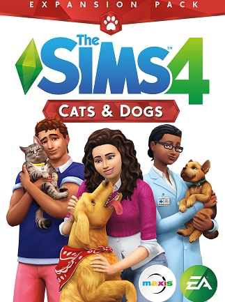 The Sims 4: Cats & Dogs Origin PC Key GLOBAL - 1