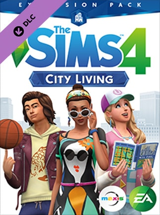 The Sims 4: City Living Origin Key GLOBAL - 1