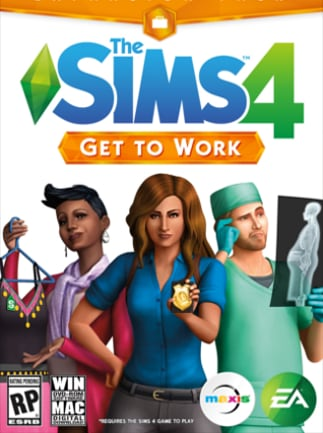 The Sims 4: Get to Work (PC) - Origin Key - GLOBAL - 1