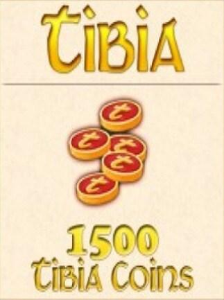 Tibia Coins Cipsoft Code GLOBAL 1 500 Coins - 1