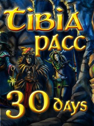 Tibia PACC Premium Time 30 Days Cipsoft Code GLOBAL - 1