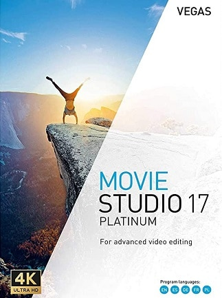 VEGAS Movie Studio 17 Platinum Steam Edition (PC) - Steam Gift - EUROPE - 1