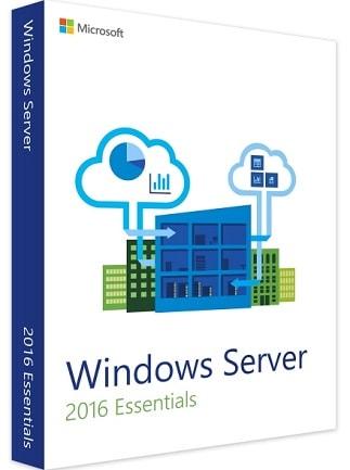 Windows Server 2016 Essentials (PC) - Microsoft Key - GLOBAL - 1