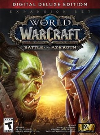 World of Warcraft: Battle for Azeroth Deluxe Edition Battle.net Key EUROPE - 1