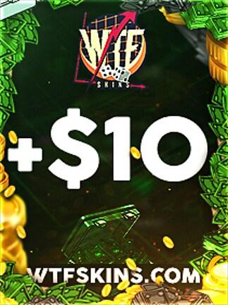 WTFSkins 10 USD Code - 1