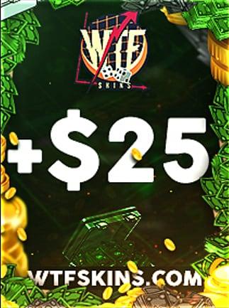 WTFSkins 25 USD Code - 1