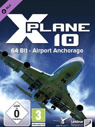 X-Plane 10 Global - 64 Bit - Airport Anchorage Steam Key GLOBAL - 1