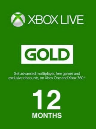 Xbox Live GOLD Subscription Card 12 Months - Xbox Live Key - TURKEY - 1