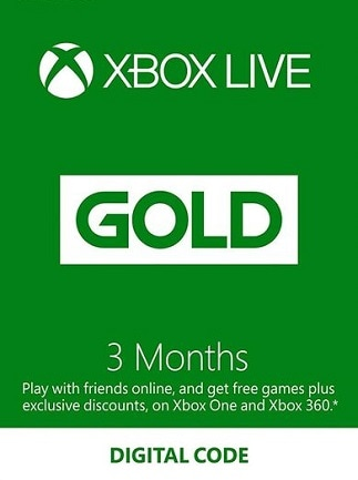 Xbox Live GOLD Subscription Card 3 Months - Xbox Live Key - SOUTH AFRICA - 1
