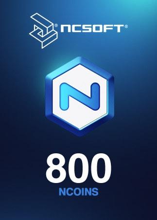 800 NCoins NCSoft Code EUROPE - 1