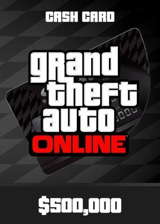 Grand Theft Auto Online: Bull Shark Cash Card 500 000 PC Rockstar Key GLOBAL - 1