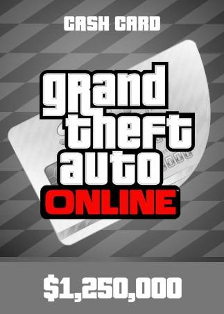 Grand Theft Auto Online: Great White Shark Cash Card 1 250 000 PC Rockstar Key GLOBAL - 1