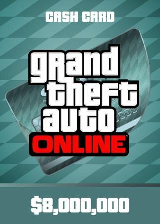 Grand Theft Auto Online: Megalodon Shark Cash Card PC 8 000 000 Rockstar Key GLOBAL - 1