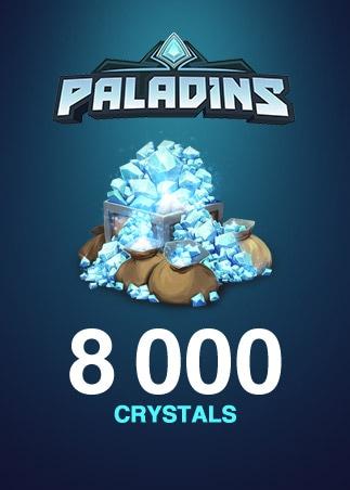 Paladins Crystals Key GLOBAL 8 000 Crystals - 1